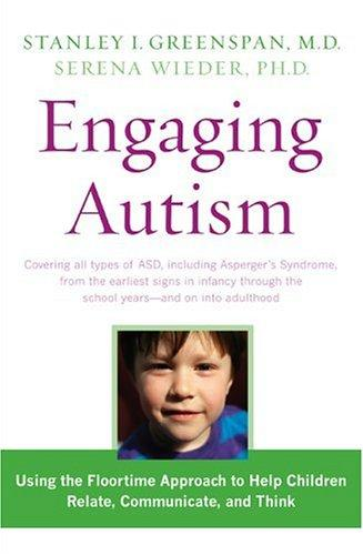 Book Cover, Engaging Autism