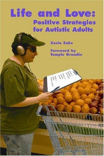 Book Cover, Life and Love: Positive Strategies for Autistic Adults