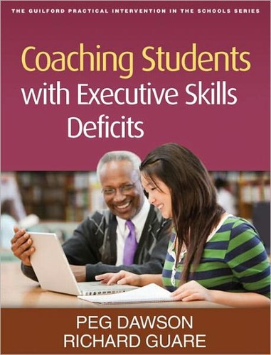 Book Cover, Coaching Students with Executive Skills Deficits