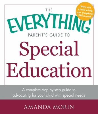 Book Cover, The Everything Parents Guide to Special Education