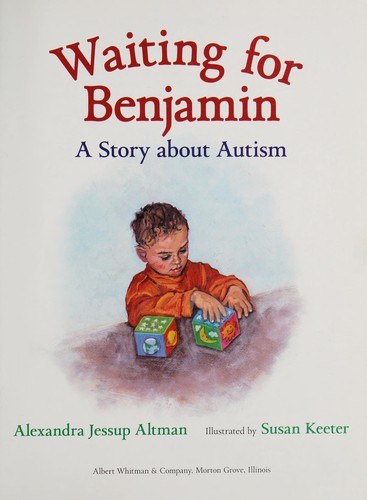 Book Cover, Waiting For Benjamin: A Story about Autism