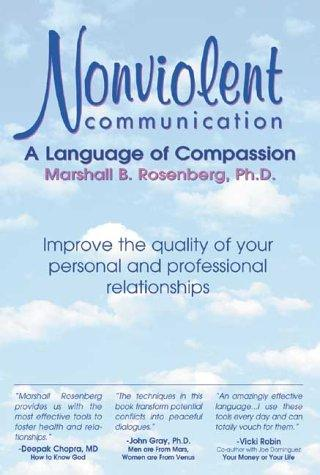 Book Cover, Nonviolent Communication