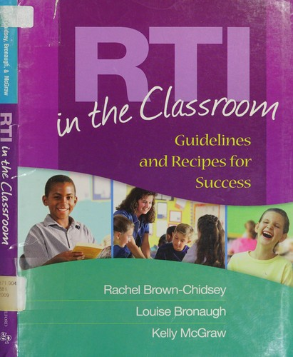 Book Cover, RTI in the Classroom: Guidelines and Recipes for Success