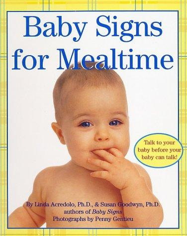 Book Cover, Baby Signs for Mealtime