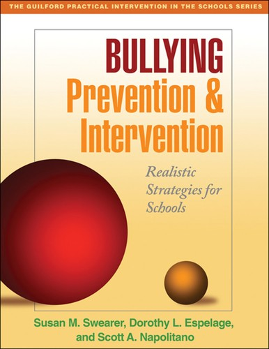 Book Cover, Bullying Prevention and Intervention: Realistic Strategies for Schools