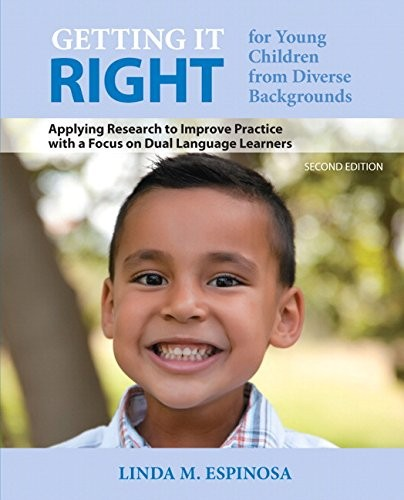 Book Cover, Getting It Right for Young Children from Diverse Backgrounds Applying Research to Improve Practice
