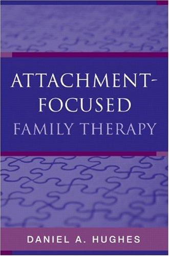 Book Cover, Attachment-Focused Family Therapy