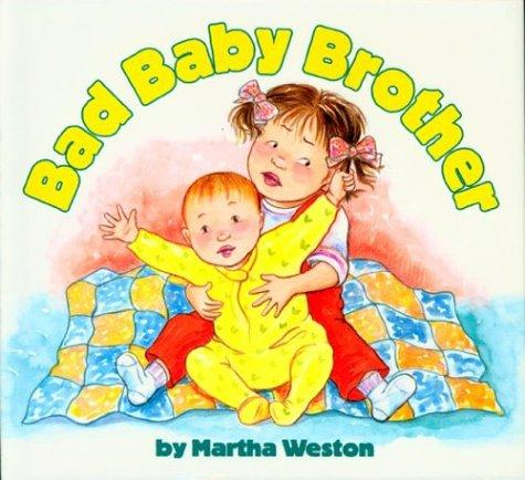 Book Cover, Bad Baby Brother