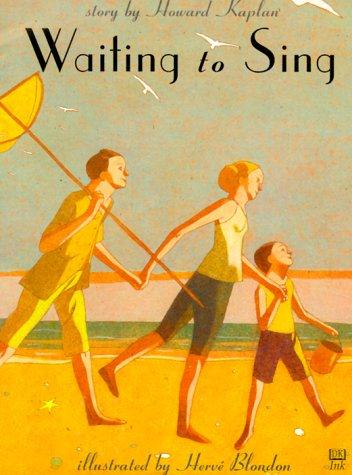 Book Cover, Waiting to Sing