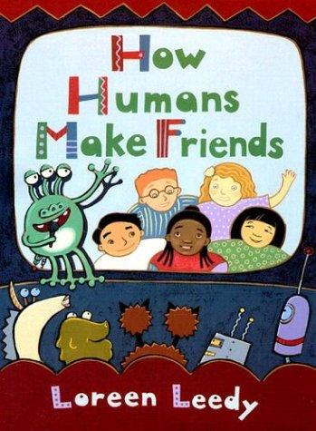 Book Cover, How Humans Make Friends