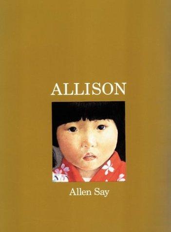 Book Cover, Allison