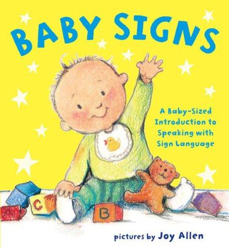 Book Cover, Baby Signs