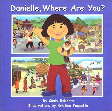 Book Cover, Danielle, Where Are You?
