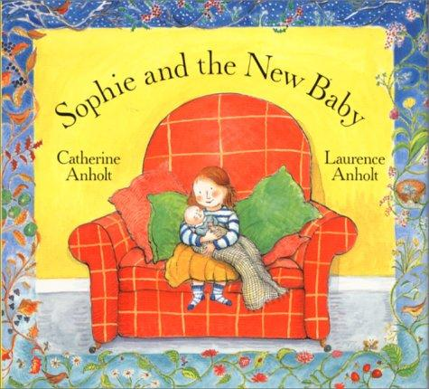 Book Cover, Sophie and the New Baby