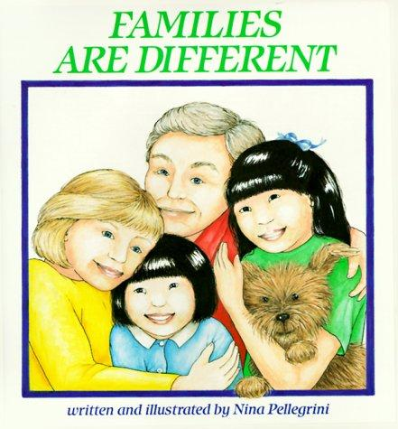 Book Cover, Families Are Different
