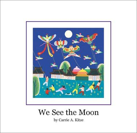 Book Cover, We See the Moon