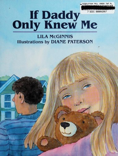 Book Cover, If Daddy Only Knew Me