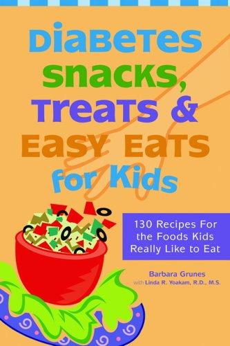 Book Cover, Diabetes, Snacks, Treats, and Easy Eats for Kids