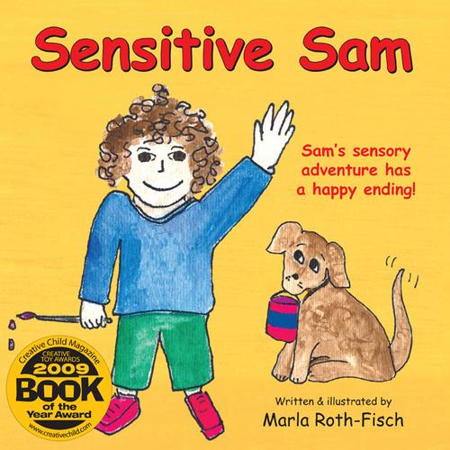 Book Cover, Sensitive Sam