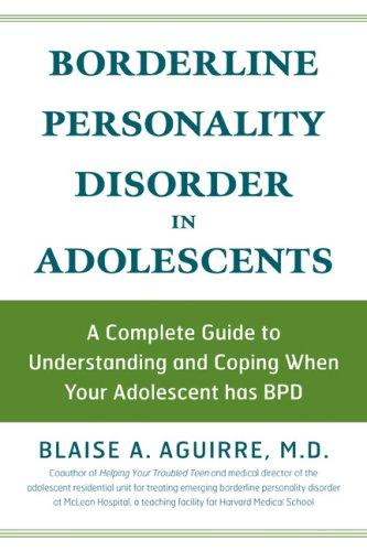 Book Cover, Borderline Personality Disorder in Adolescents: A Complete Guide to Understanding and Coping When Your Adolescent Has BPD