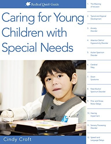 Book Cover, Caring for Young Children with Special Needs