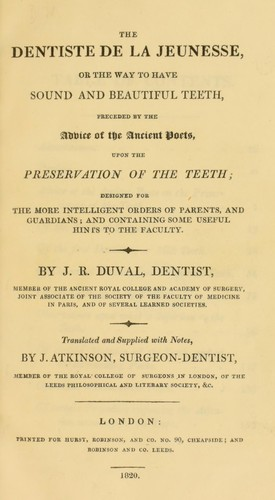 Book Cover, The Dental Care Book for Parents and Children