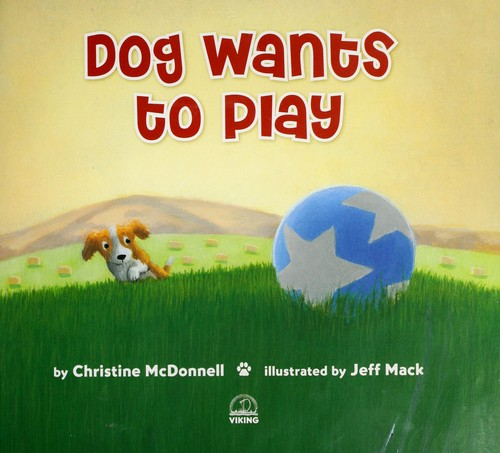 Book Cover, Dog Wants to Play