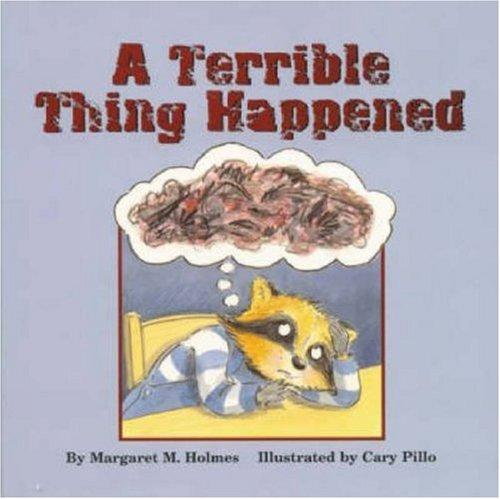 Book Cover, A Terrible Thing Happened