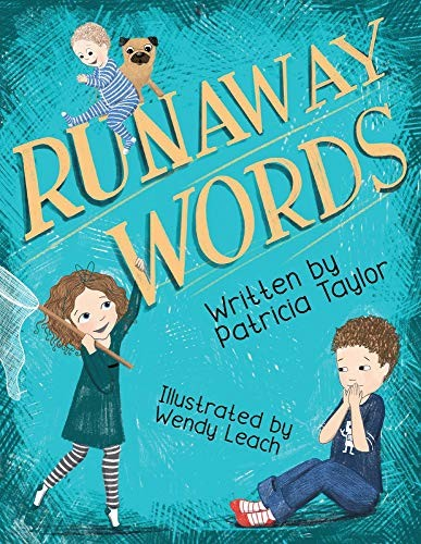 Book Cover, Runaway Words