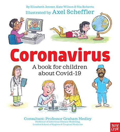 Book Cover, Coronavirus a Book for Children