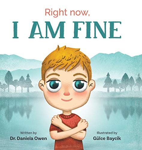 Book Cover, Right Now: I Am Fine